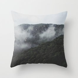 cloudy scapes. Throw Pillow