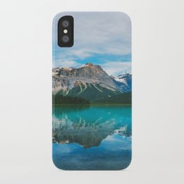 The Mountains and Blue Water - Nature Photography iPhone Case