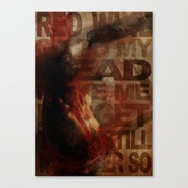 Addiction is the new Religion #1 Drink your brain Canvas Print