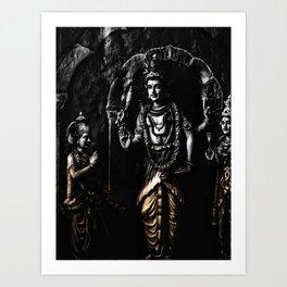 Hindu God Art Print