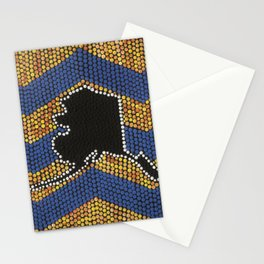 Alaska in dots Stationery Cards