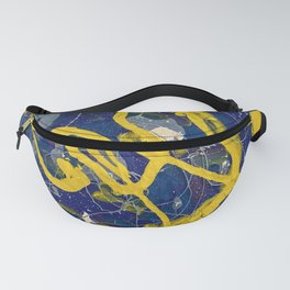 Moody Blue Tuesday Fanny Pack
