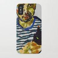 murakami iPhone & iPod Cases featuring haruki murakami by Basma