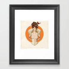 Miss Virginia Framed Art Print