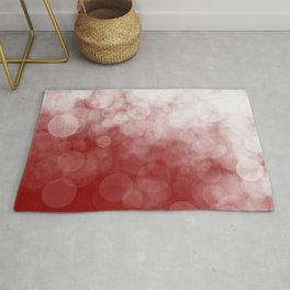 Cranberry Spotted Rug