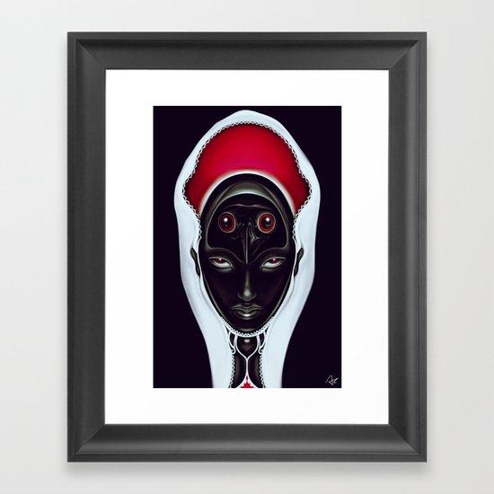 Au contraire Framed Art Print