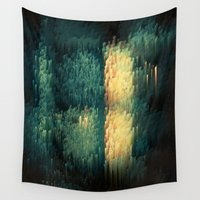 drums Wall Tapestries featuring Door of hope by Alix Rumble