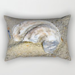 Shell in the Sand Rectangular Pillow