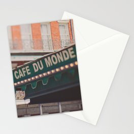 Cafe Du Monde. Coffee and Beignets Stationery Cards