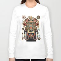 spirit Long Sleeve T-shirts featuring Mayas Spirit - Boom 2012 by Exit Man