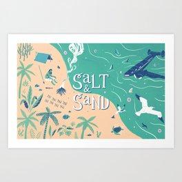 Graft - Salt & Sand Art Print