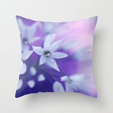 Dusky Violet Throw Pillow