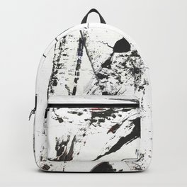 Abstract Modern Ink painting Backpack