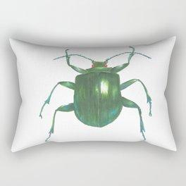Big Beetle Rectangular Pillow