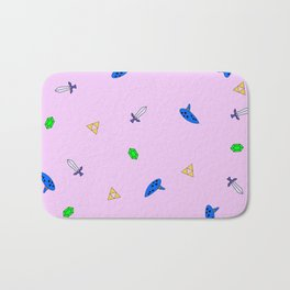 Legend of Zelda Pastel Print Bath Mat