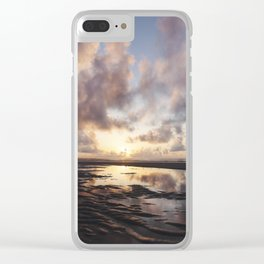 Sunrise Over the Beach 2 Clear iPhone Case