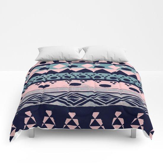 PASTEL NORDIC TRIBAL II Comforters