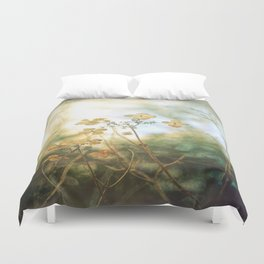 Forest Flowers Duvet Cover