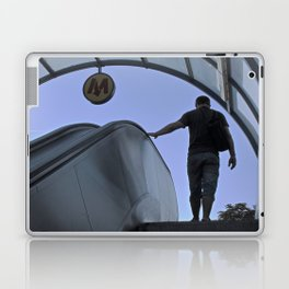 Out of the metro Laptop & iPad Skin