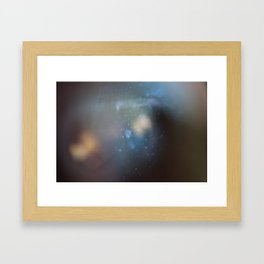 into the world of light Framed Art Print