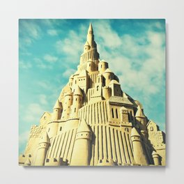 The Ultimate Sandcastle Metal Print