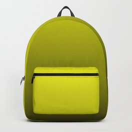 Cats Eye Yellow and Black Deadly Ombre Nightshade Backpack