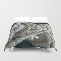 nautical Duvet Covers featuring Nautical by Marietta Dc Fameli