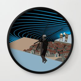 Not knowing that the end was coming Wall Clock