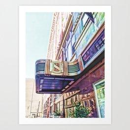 Deco Charm Art Print