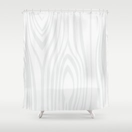 Wood background. White Wooden Slats  #society6 #decor #buyart #artprint Shower Curtain