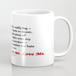 Pick Me Coffee Mug