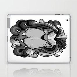 Lion - Harbour Mist Grey Laptop & iPad Skin