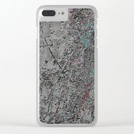 PiXXXLS 222 Clear iPhone Case