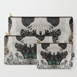 Starry Forest Carry-All Pouch