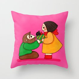 Family Love Throw Pillow