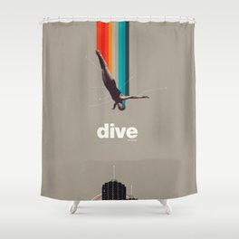 Dive Into My Soul Shower Curtain