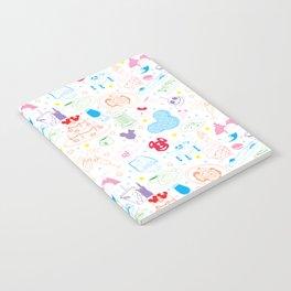 Tasting the Magic - White Notebook