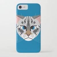 calvin iPhone & iPod Cases featuring Calvin Harper by Hattie Stroud