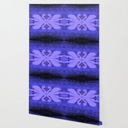 Swans in Love (in a purple haze) Wallpaper
