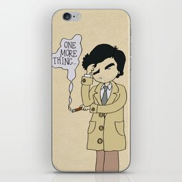 Columbo - Just One More Thing iPhone Skin