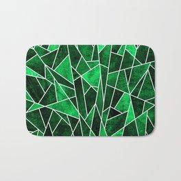 Shattered Emerald Bath Mat