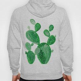Green cactus Hoody