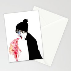 Jealousy Snaking Up Again Stationery Cards