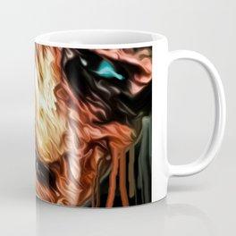 freddy graffiti print Coffee Mug