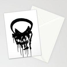Graffiti Skull Stationery Cards