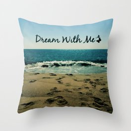 Dream With Me Throw Pillow