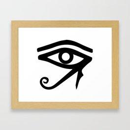 The Eye of Ra Framed Art Print