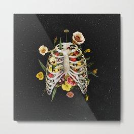 Floral Thorax Metal Print