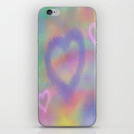 Fuzzy Love iPhone Skin
