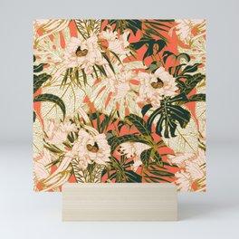 Flowering tropical coral bloom Mini Art Print